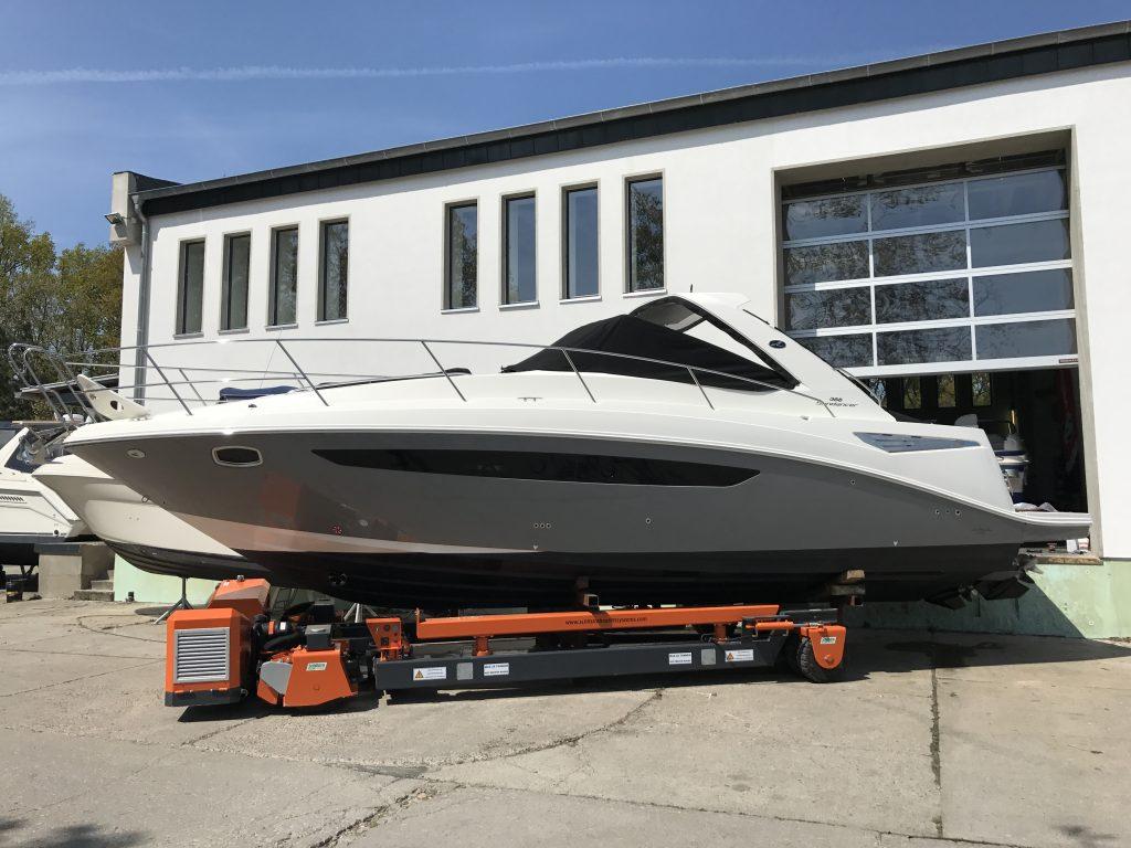 Winterlager für Boote