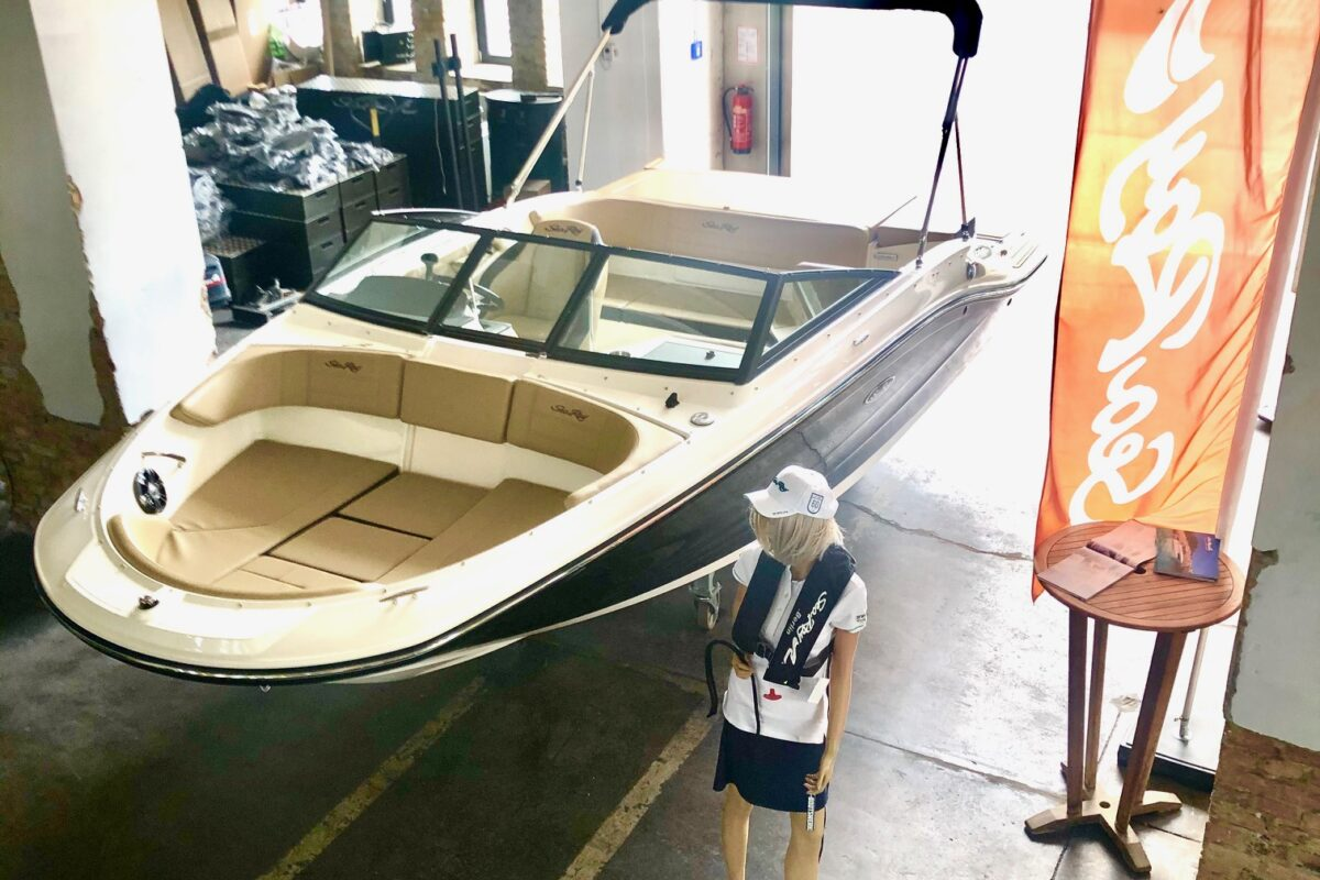 Sea Ray SPX 190 MERCURY 4,5L MPI KAT 200PS SOFORT LIEFERBAR