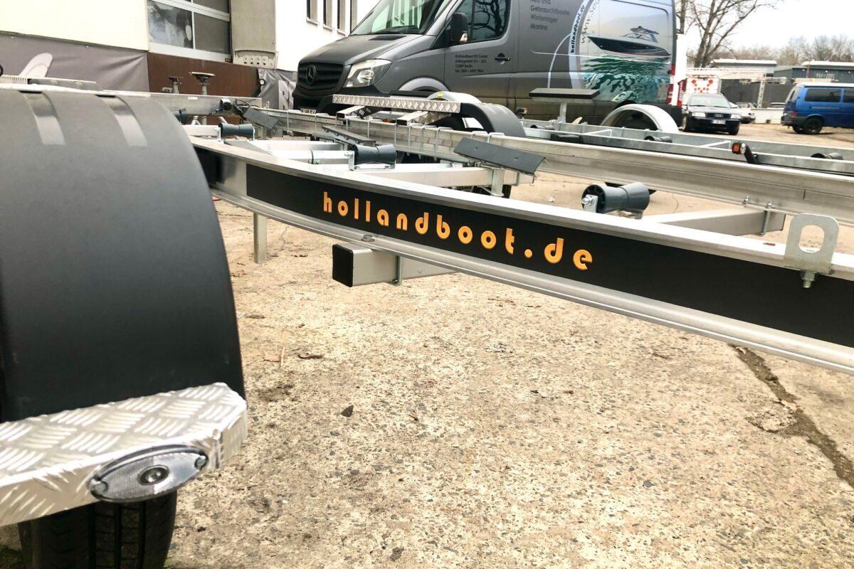 2700 kg Aluminium Trailer Bootstrailer ALU Tandemtrailer für Boote bis max. 8 Meter länge und einer Nutzlast 2182 kg NEU & SOFORT ABHOLBEREIT!!!!