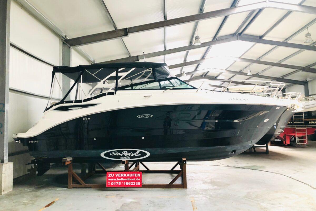 Sea Ray 290 Sundancer Mercruiser 350 PS mit Bravo III Antrieb & Guter Ausstattung aus 1. Besitz  Erstwässerung 29.05.2020 nur Berliner Süßwasser  65 Betriebsstunden sofort startklar zur Saison Inzahlungnahm erwünscht!